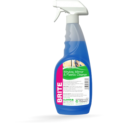Clover Brite - Glass and Plastic Cleaner 750ml